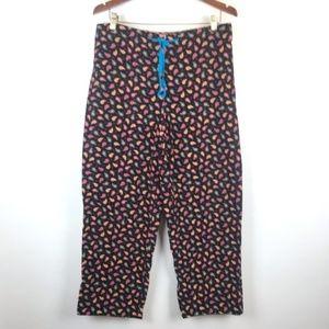 Vera Bradley Paisley Corduroy Pajama Pants
